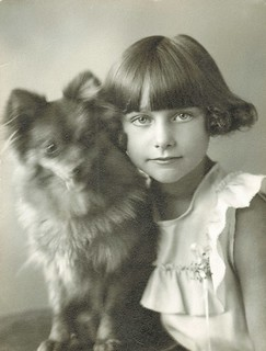 A girl and her dog from Bismarck, North Dakota