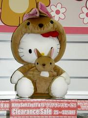 #9786 Hello Kitty, kangaroo version