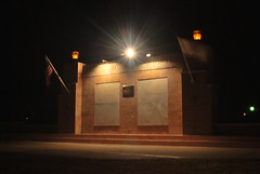 War memorial in Streator