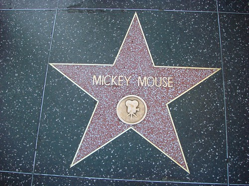 Mickey Mouse - Hollywood Star!
