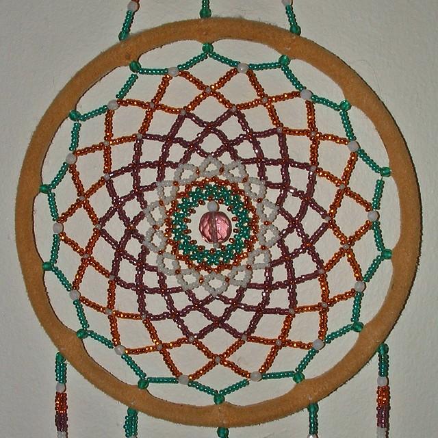 Dream Catcher Machine Embroidery Design Dcd Heart Feltie