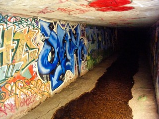 Inside the Gates of Hell storm sewer