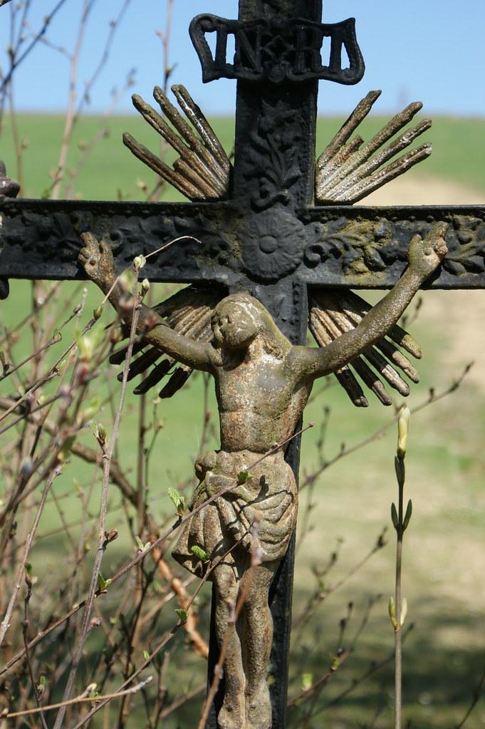 Kreuz am Wegrand