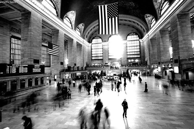 Grand Central Terminal, New York.  Waiting for Terry Gilliam...