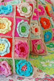 crochet pillows...