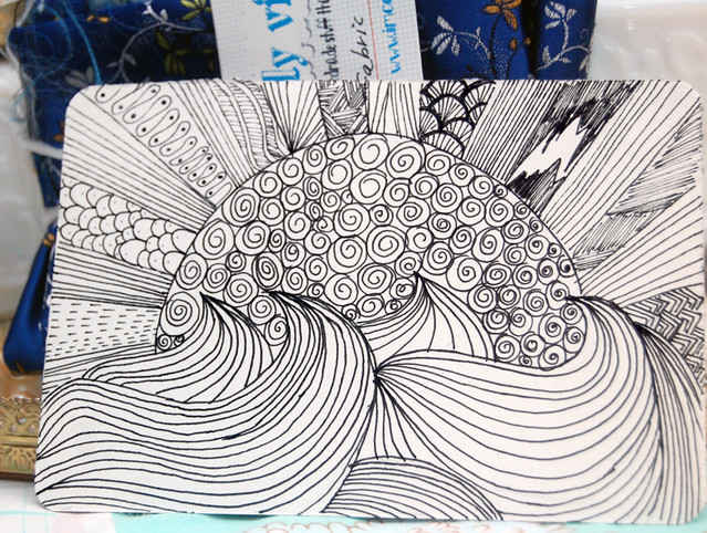 Zentangle postcards for Beginners!