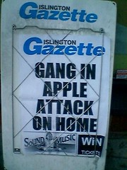 news board apple attack