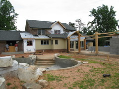 Home remodel, patio, pool