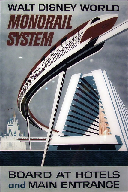 Monorail System Poster