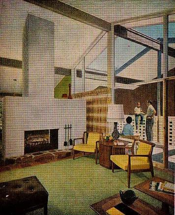 Living Room Flickr Photo Sharing