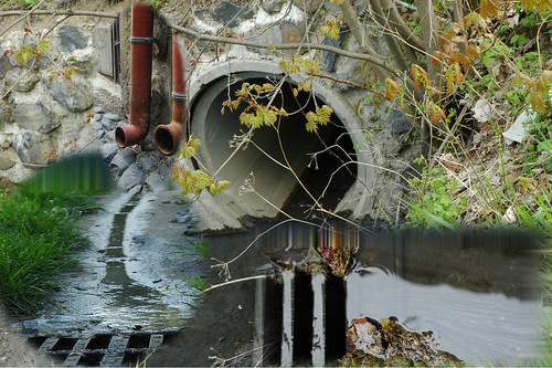 6- photomontage of the waste water collecting