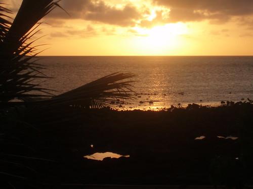 Sunset on Erub Island