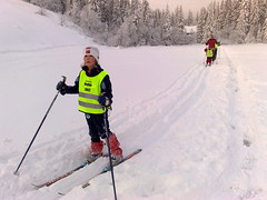 ski cross(0.0), slalom skiing(0.0), telemark skiing(0.0), ski equipment(1.0), winter sport(1.0), footwear(1.0), nordic combined(1.0), ski(1.0), skiing(1.0), piste(1.0), sports(1.0), recreation(1.0), outdoor recreation(1.0), ski touring(1.0), ski mountaineering(1.0), cross-country skiing(1.0), downhill(1.0), nordic skiing(1.0),