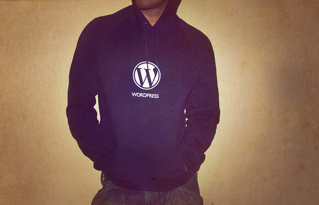 Photo:Wordpress Hoodie By:Carlos Varela
