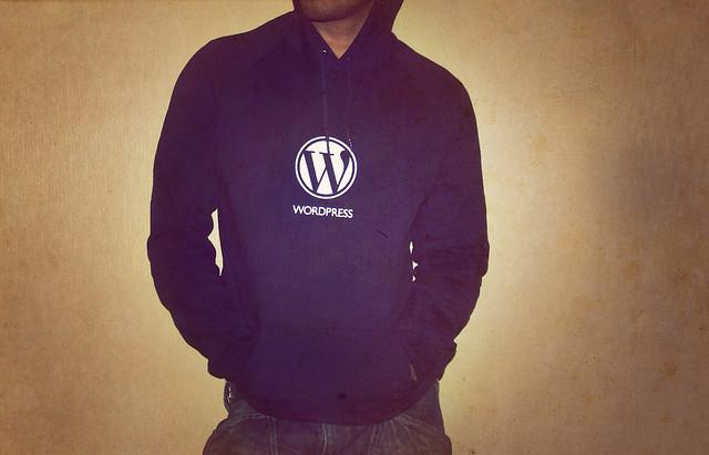 Photo:Wordpress Hoodie By:Carlos Varela