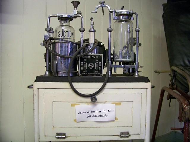 vintage anesthesia machine