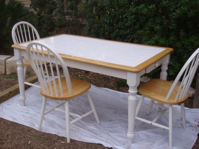 Tile Square Table By Boraam, Dinette Sets