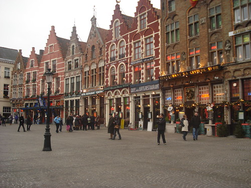 Bruges Market Square, Belguim