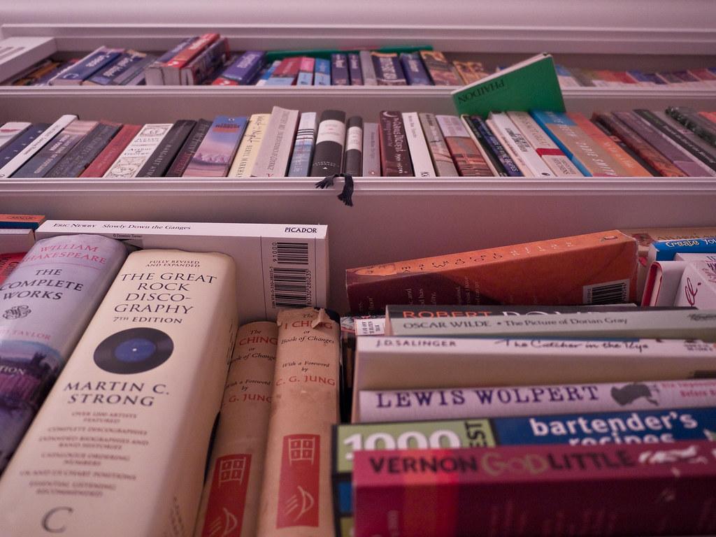 como guardar libros