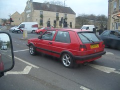 automobile, supermini, vehicle, volkswagen golf mk2, city car, land vehicle, hatchback,