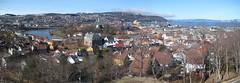 Trondheim from Kristiansten Fortress