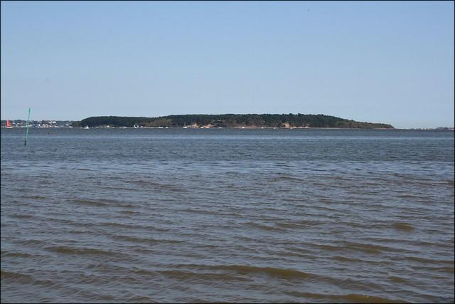 Brownsea Island viewed from Arne