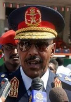 Sudanese Defence Minister Abdel Rahim Mohamed Hussein visited the North Darfur region on May 10, 2009. The government has pledged to defend the country against imperialist-inspired plots and attacks. by Pan-African News Wire File Photos
