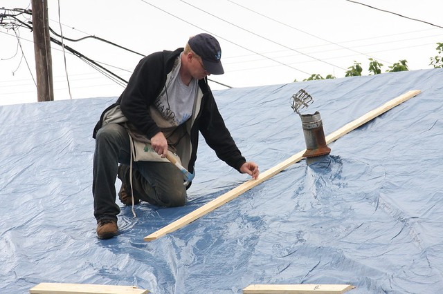 Image Result For Tarp For Roof