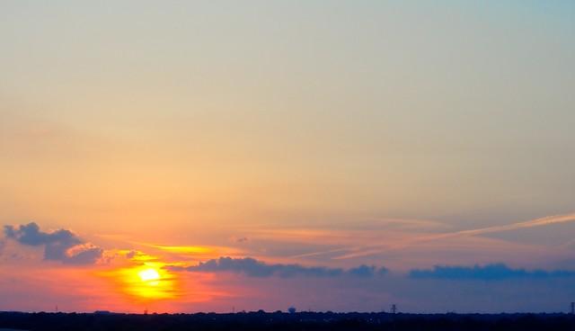 Hazy Sunset - #1422