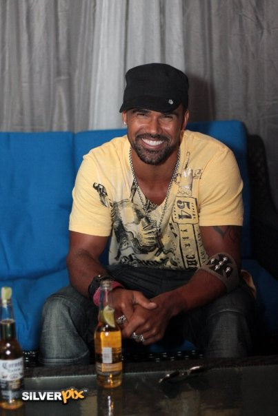 Shemar Moore at Up on Carling