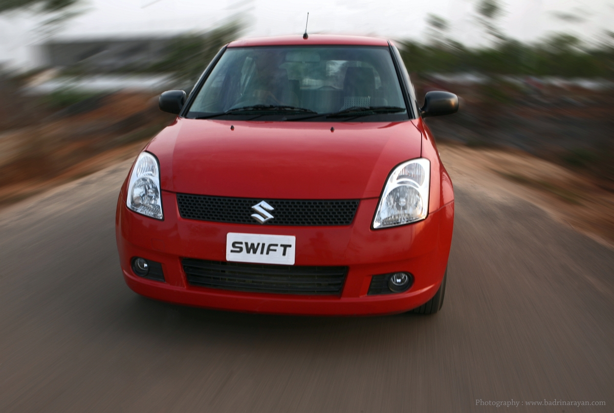 Maruti Swift Red coming straight to you