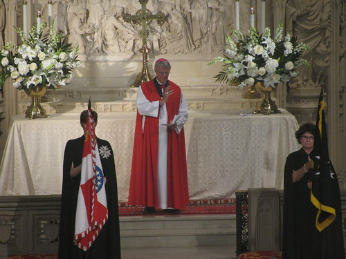 Bishop Frank Griswold preaches at Order of St  John Evensong