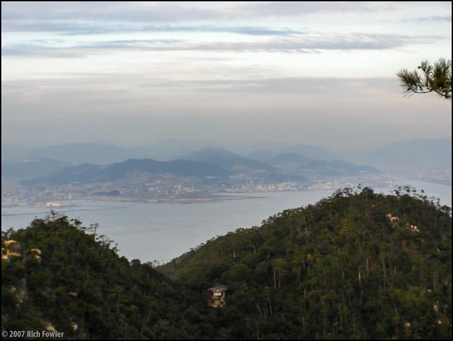 Hiroshima from Mt. Misen