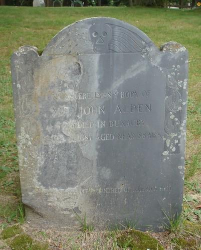 John ALDEN [memorial stone] by midgefrazel