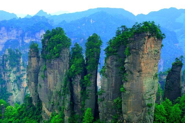 Parque Nacional de Zhangjiajie, China