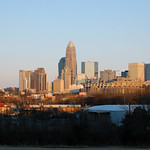 Charlotte Skyline Sunset