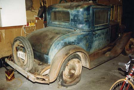 1929 Chevy - Before Restoration