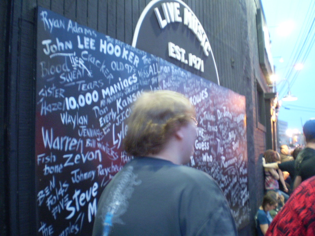 The Wall of Performers