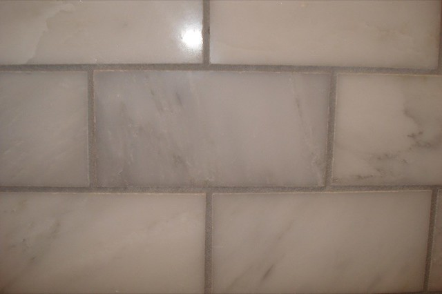 What Color Grout For Matt Eggshell Kitchen Subway Tile