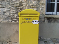 waste containment, waste container, yellow, post box, letter box,