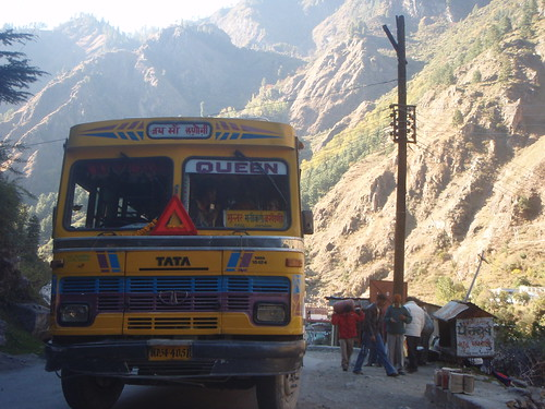 Bus to the high himalayas