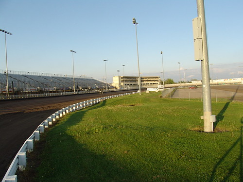 3 racetrack race turn track knoxville iowa infield speedway