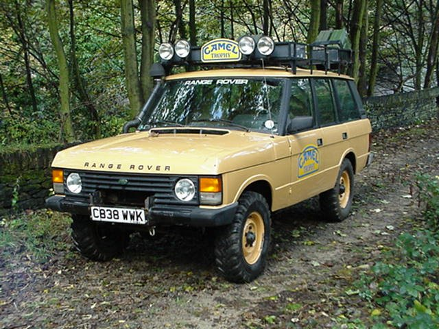 C838 Wwk Genuine 1986 Camel Trophy Range Rover A Photo