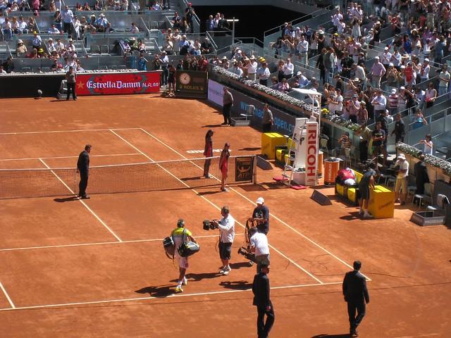 Rafael Nadal entering (4)