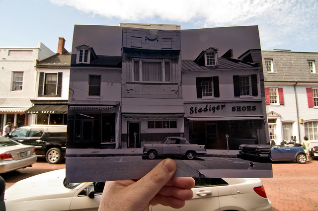 Looking Into the Past: Main Street, Annapolis, MD