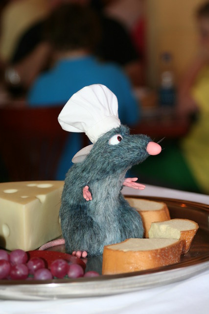 Remy from Ratatouille in France / Epcot | Remy, the chef fro ...