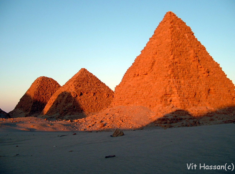 Nubian Pyramids - Will Egyptian Pyramids Get Competition?