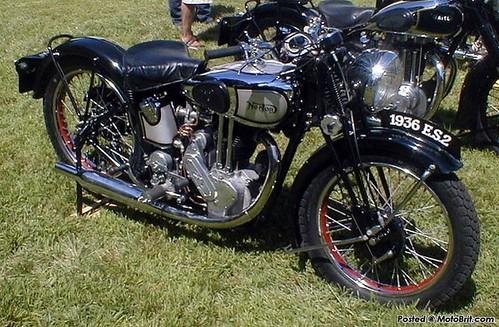 1936 Norton ES2