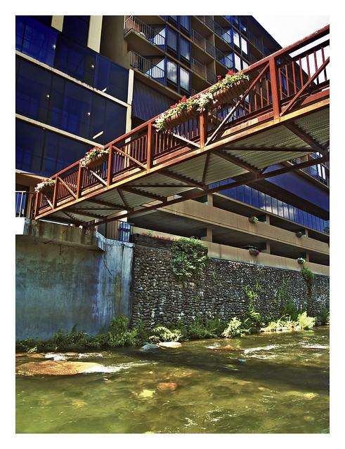 1019199 bridge of the edgewater hotel in gatlinburg. Black Bedroom Furniture Sets. Home Design Ideas