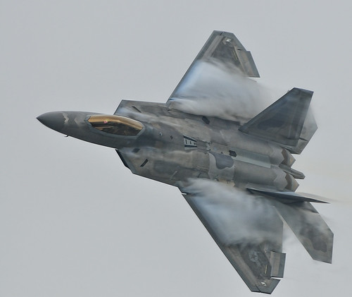 plane fighter aircraft airshow explore rhodeisland raptor f22 usaf quonset d300 unitedstatesairforce watervapor explored demonstrationteam f22a 300mmf4d aircombatcommand platinumphoto northkingston nikonjim